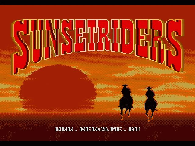 Скачать sunset riders на компьютер