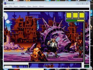 Запуск игры Comix Zone на эмуляторе Sega для PC